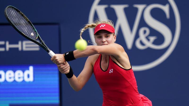Теннис: украинка Ястремская победила американку во втором круге турнира в Риме