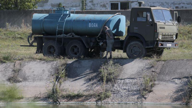 России нужно больше воды для развития военных объектов в Крыму – МИД Украины
