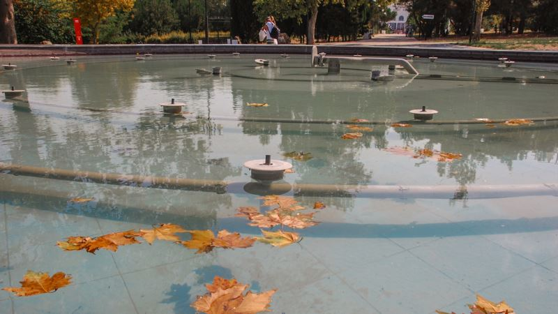 В Севастополе готовят план экономии воды и отключают фонтаны – власти