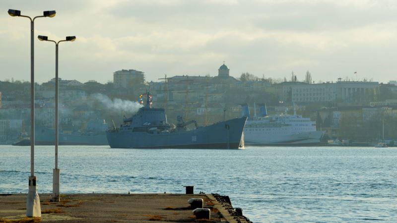 Выборы в Севастополе: российские военные голосуют на кораблях Черноморского флота России