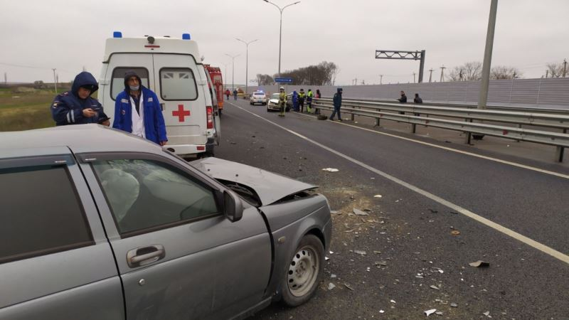 В полиции Крыма назвали сон за рулем «основной причиной» ДТП на «Тавриде»