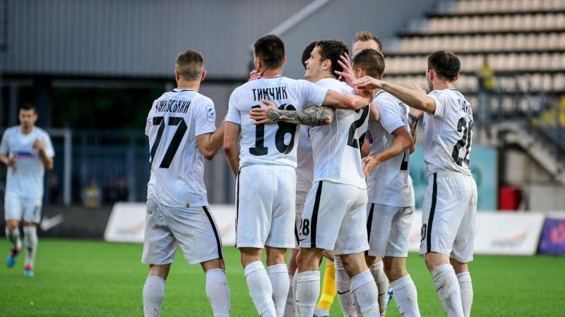 «Ворскла» вышла на первое место турнирной таблицы чемпионата Украины по футболу