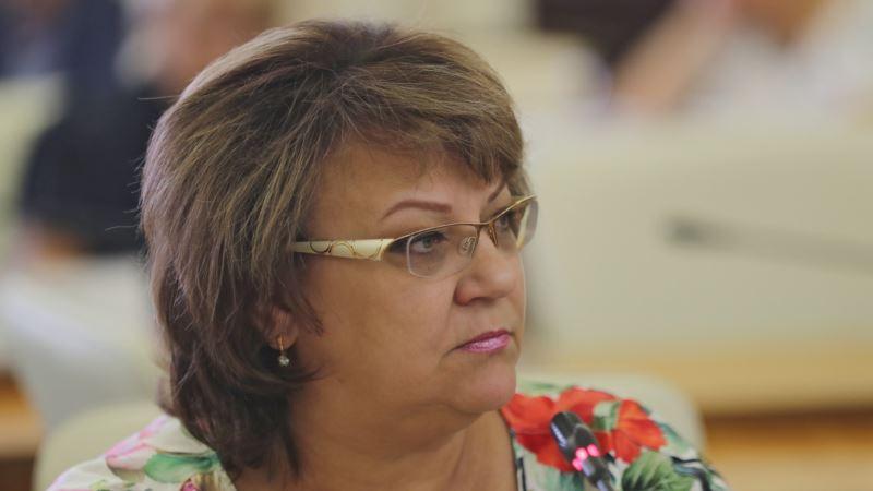 Чиновница крымского правительства сообщила, что заразилась COVID-19