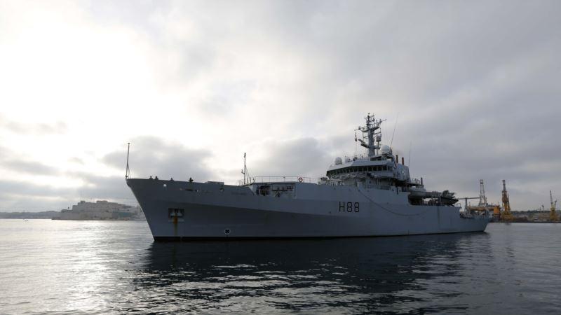 В Черное море вошел корабль ВМС Великобритании