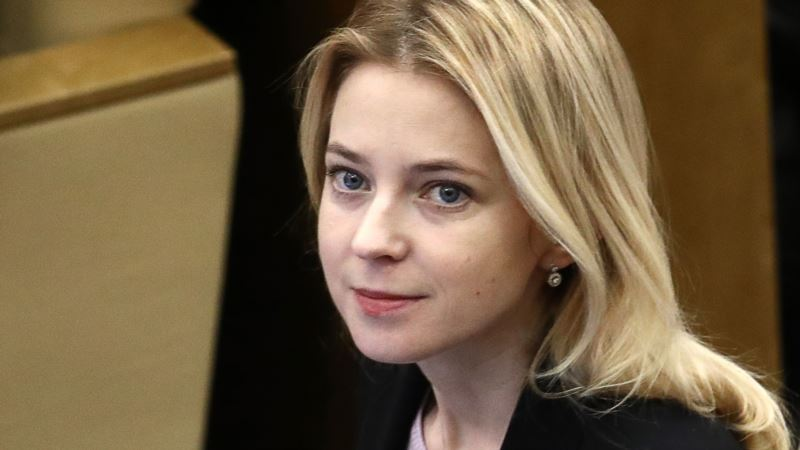 Поклонская утверждает, что собрала материалы для ООН о «перекрытии воды» в Крым