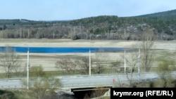 В Крыму сообщают о пересыхании нескольких рек, питающих водохранилища