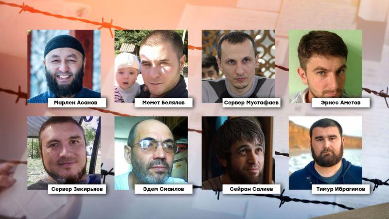 Активисты провели в Москве флешмоб в поддержку фигурантов бахчисарайского «дела Хизб ут-Тахрир» (+фото)