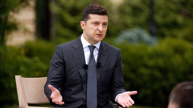 Президент Зеленский обсудит в Австрии ситуацию в Крыму и на Донбассе