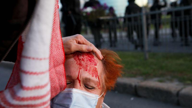 В Минске жестко задерживают участников протестов после инаугурации Лукашенко, есть раненые