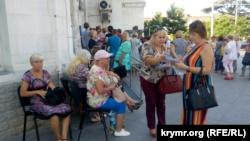 В центре Севастополя прошел пикет против Развожаева (+фото)