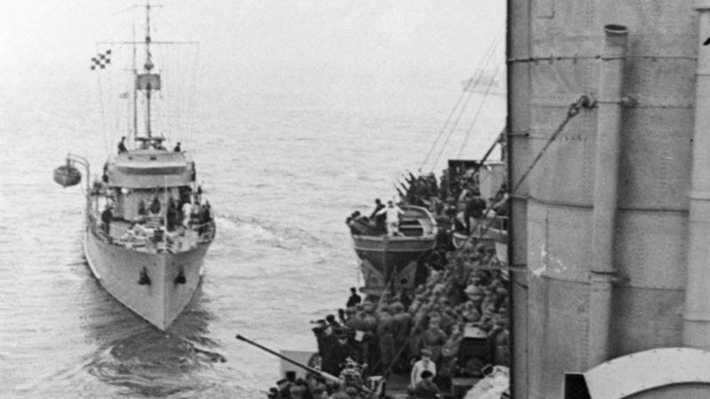У берегов Крыма начинается поиск затонувших кораблей