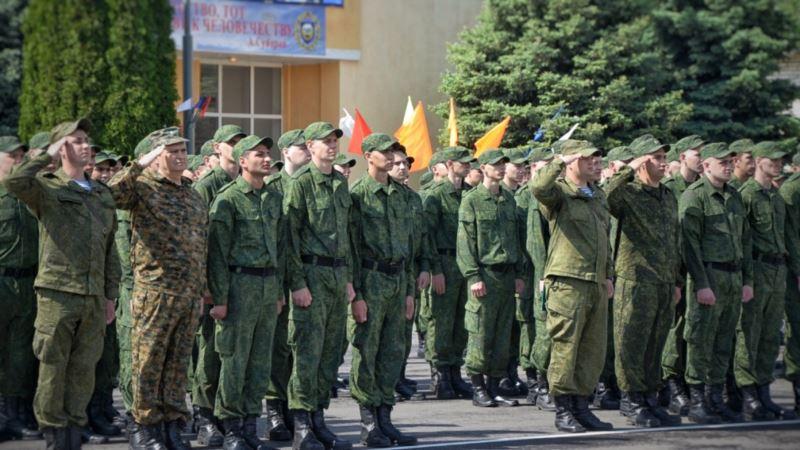 В Севастополе на службу в российскую армию по контракту призвали 250 человек – министерство