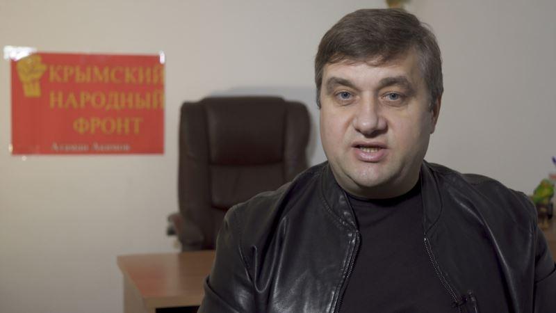 Обыски в Крыму: Акимов утверждает, что протокол по его делу составлен с ошибкой (+фото)