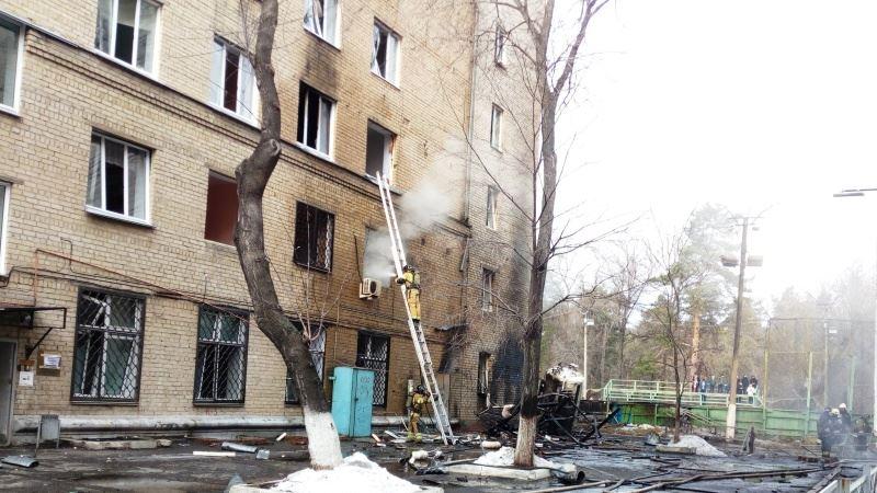 Россия: в Челябинске произошел взрыв в больнице для пациентов с COVID-19