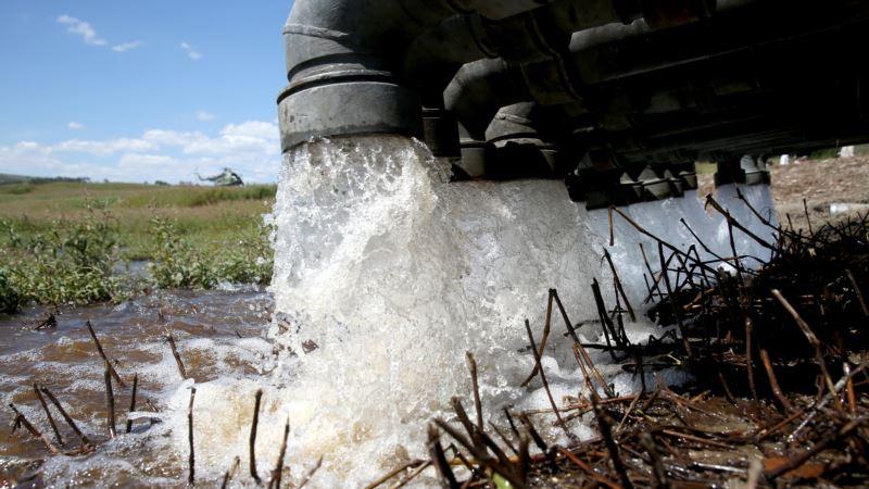 В Крыму планируют к концу января дополнительно выкачивать из скважин 30 тысяч кубов воды для Симферополя