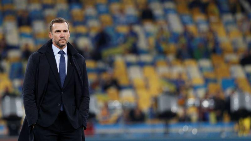 Футбол: сборная Украины провела первую тренировку после возвращения из Парижа