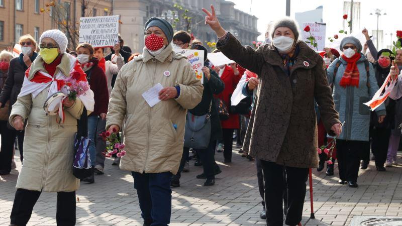 «За наших детей до победы». В Минске прошел Марш пенсионеров (фотогалерея)
