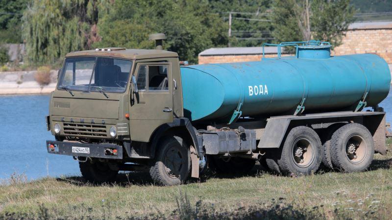 Жители села в Белогорском районе почти на неделю остались без воды