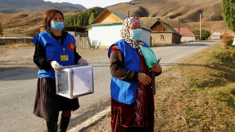 Выборы в Кыргызстане: по предварительным данным, 4 партии прошли в парламент