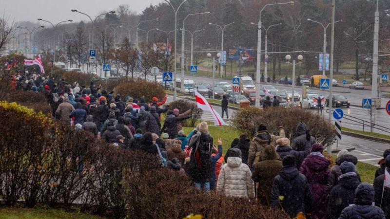 На «Марше соседей» в Беларуси силовики задержали около 400 человек – правозащитники (+фото)