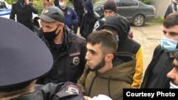 Задержание Эрфана Бекирова