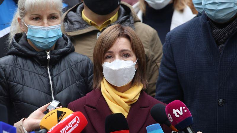 На выборах президента Молдовы лидирует проевропейский кандидат Майя Санду