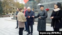 Мероприятия к годовщине октябрьского переворота в Севастополе