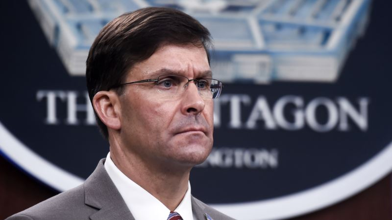 Президент Трамп уволил главу Пентагона