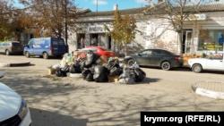 Ялта: рядом с Гаспринской средней школой появилась огромная несанкционированная свалка – власти