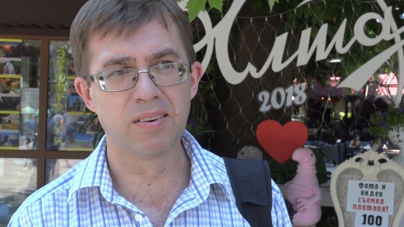 Сын ялтинского журналиста Сардыко рассказал подробности его ареста