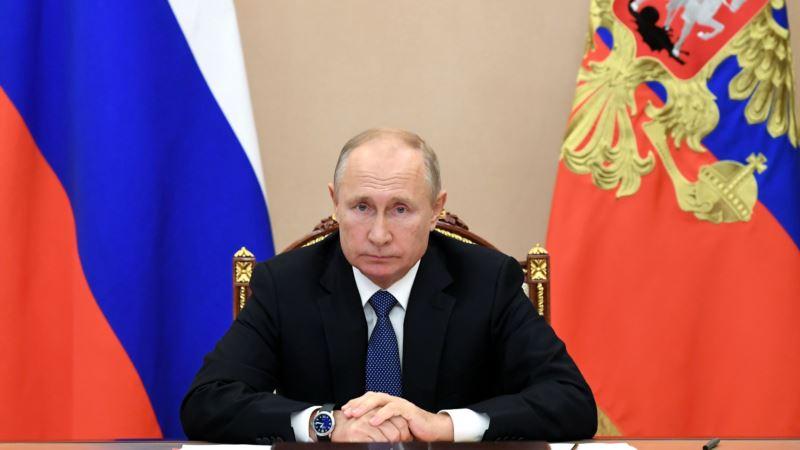 В Госдуму России внесли законопроект об обнулении сроков Путина