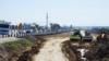 В Крыму сообщают об обвале дороги Дубки – Левадки под Симферополем