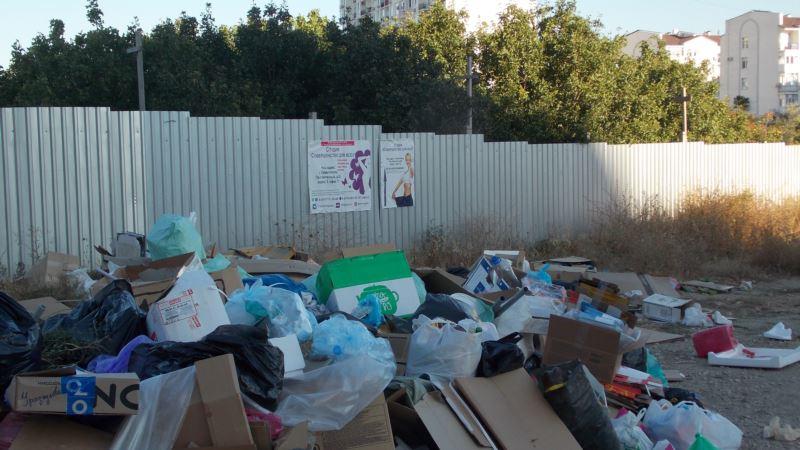 В Симферополе обнаружили 17 стихийных навалов крупногабаритного и строительного мусора – власти