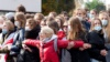 В Минске прошел Марш пенсионеров, к ним присоединились медики