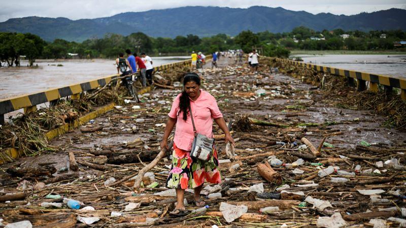 США: шторм «Эта» вновь обрушился на побережье Флориды