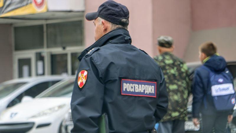 Севастополь: Росгвардия задержала мужчину, который «напал» на платежный терминал