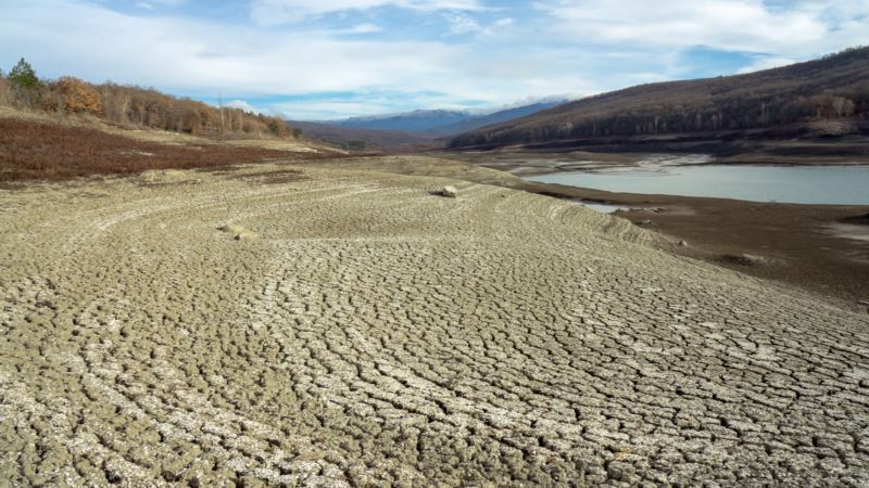 Власти Крыма опубликовали данные об остатках воды в водохранилищах (+фото)