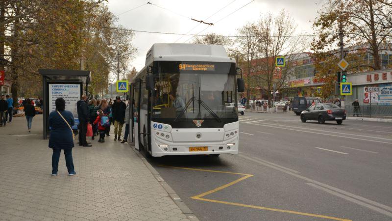 В Севастополе четыре автобуса отдали для перевозки медиков 