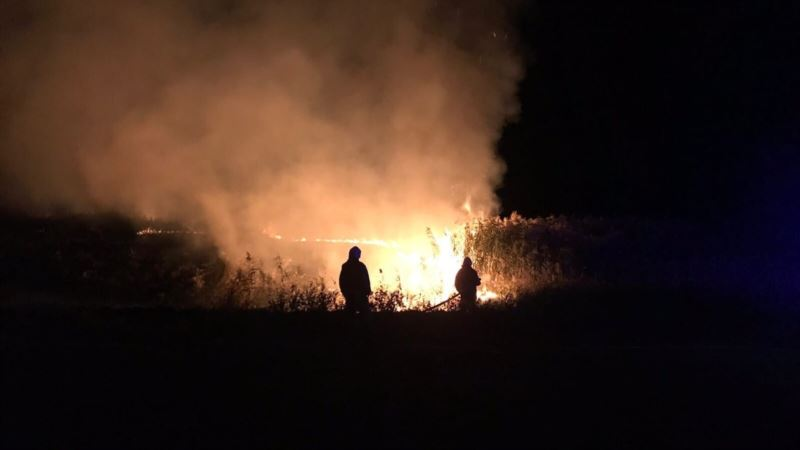 Из-за засухи пожароопасный сезон в Севастополе продлился 8 месяцев