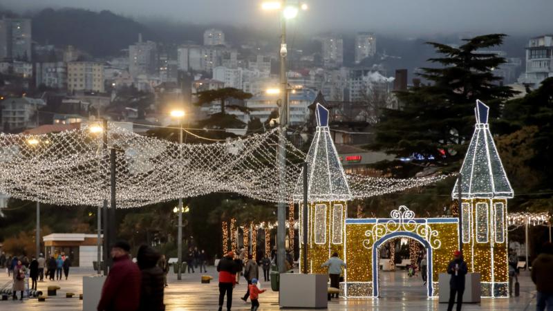 На Новый год в Крыму ожидается до +17 тепла – синоптики