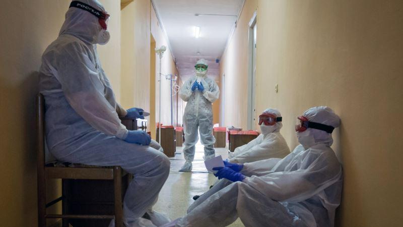 В Крыму за сутки пять человек умерли из-за коронавируса