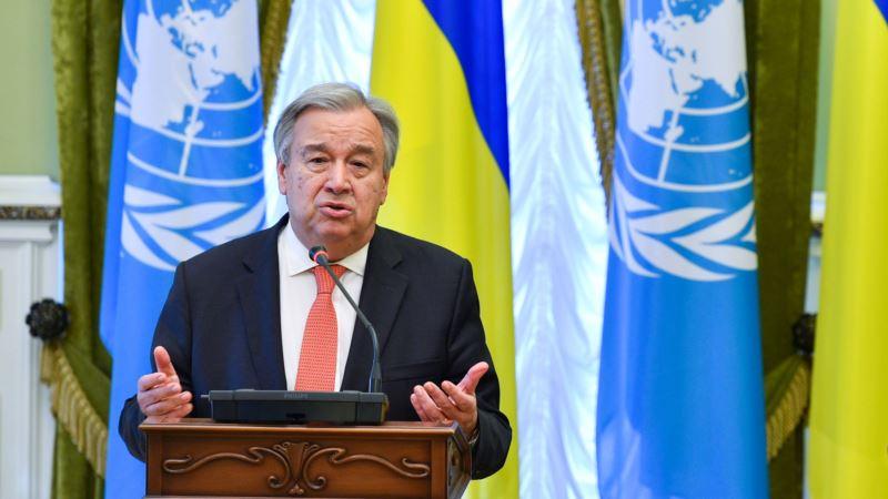 Генеральный секретарь ООН призывает мир к глобальному чрезвычайному положению климата