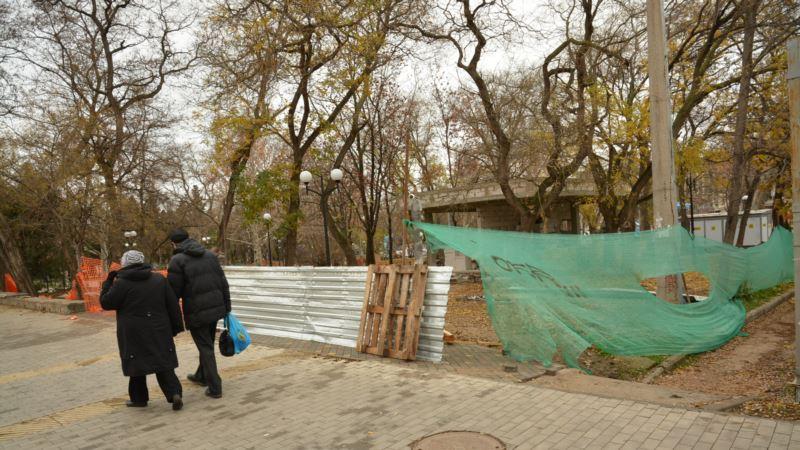 Власти Севастополя не смогли вовремя закончить реконструкцию Детского парка