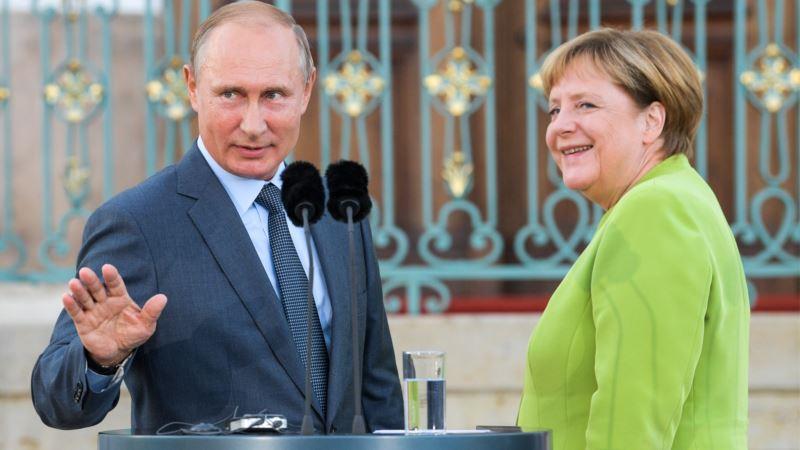 Путин обсудил с Меркель ситуацию на Донбассе, Нагорный Карабах и Навального