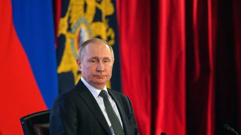 Россия: сотрудник спецбатальона МВД пожаловался генпрокурору из-за сбора данных о маршрутах Путина