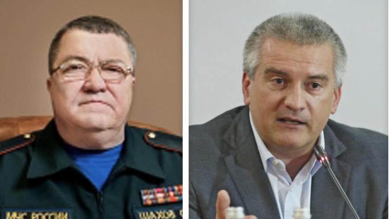 Аксенов «потрясен» смертью главы МЧС Крыма Шахова