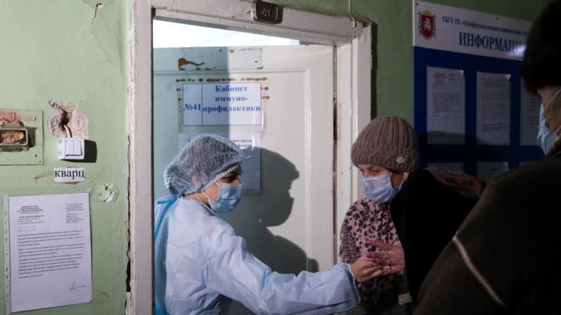 Как в Крыму стартовала «массовая» вакцинация от COVID-19 (фотогалерея)