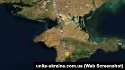 Виртуальная цепь украинцев объединила Симферополь с Киевом (+фото)
