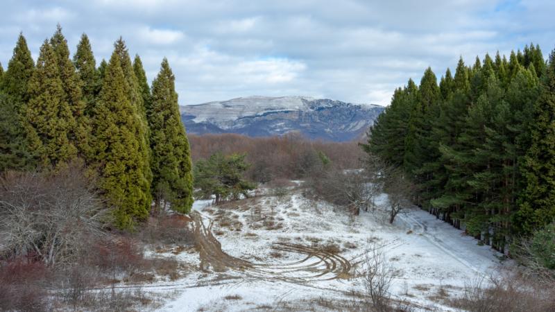 Погода в Крыму: сильный дождь, местами снег