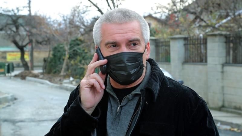 Аксенов заявил, что готовит обращение об отстранении подрядчика, который должен был чистить «Тавриду» от снега